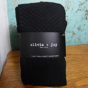Olivia + Joy Sweater Tights
